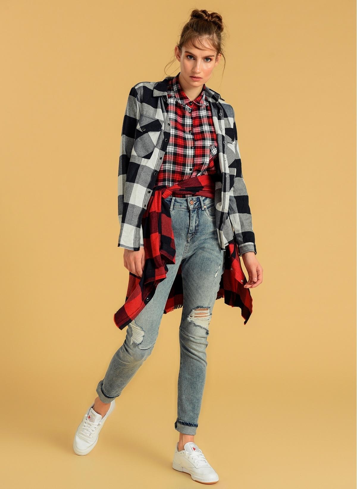 Vero Moda Jean Pantolon | Roxy – Antifit 10160197 Nmroxy Nw Antifit Dart Jeans Fg – 54.9 TL